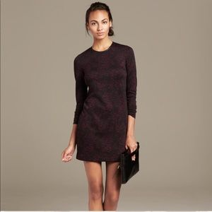 Banana Republic knit crackle dress 00P $118